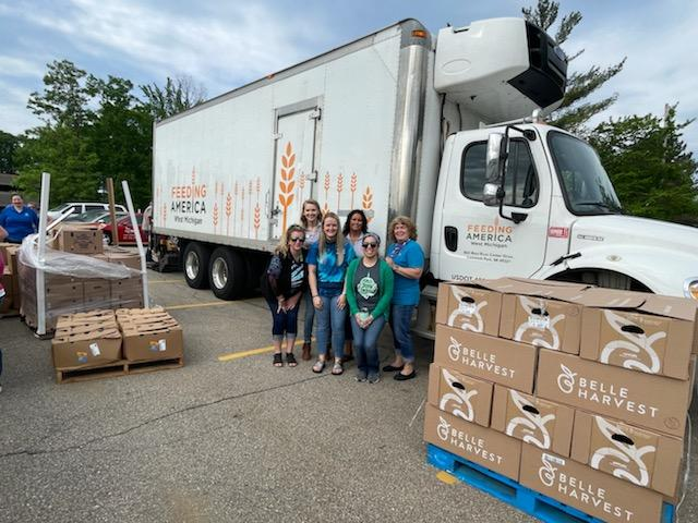 FFCU With Feeding America Group